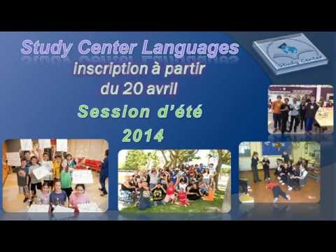 Programme D'été 2014 - Study Center Languages