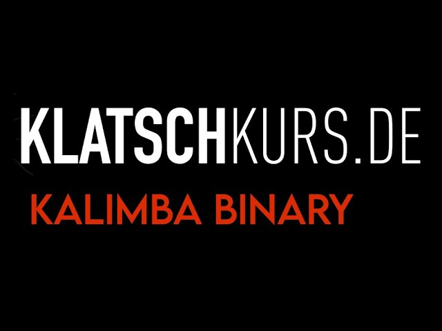 Kalimba Patterns 1 - Klatschkurs - Rhythm Reading - by Kristof Hinz