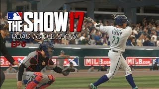 MLB THE SHOW 17 - Ep 6 - HILARIOUS BOTCH!! (Road To The Show #6)