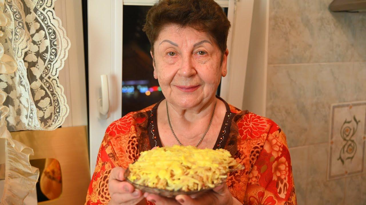 """Свеженький салат """"Золотая осень"""" Достоин новогоднего стола 2021!"""