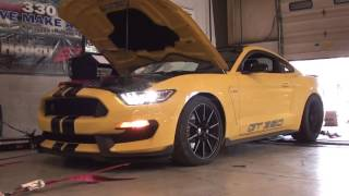 Ford Mustang Shelby GT350 Headers Before & After