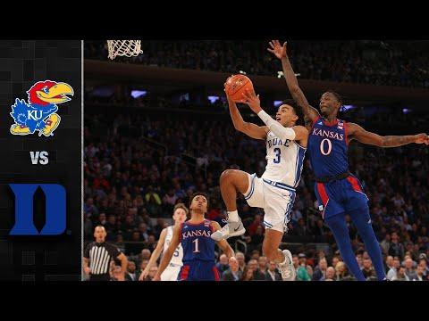 Kansas vs. Duke Basketball Highlights (2019)
