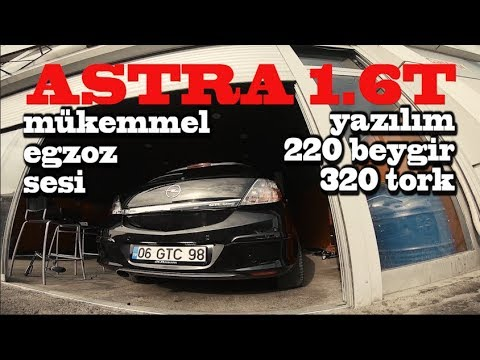 Opel Astra H 1.6 115 hp 30-160 km/h Acceleration (2.Gear) 2cr
