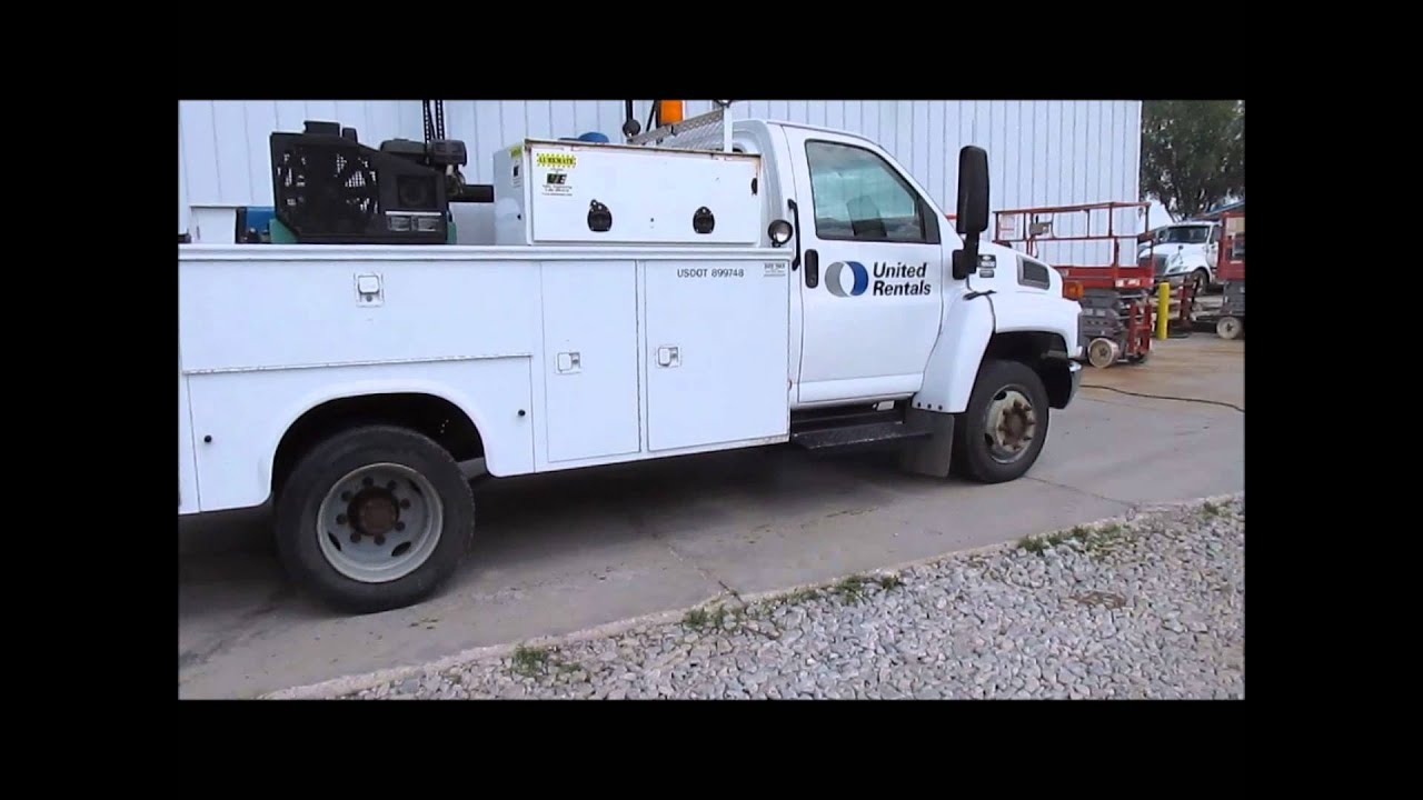 2006 chevrolet kodiak c5500 service truck for sale sold. Black Bedroom Furniture Sets. Home Design Ideas