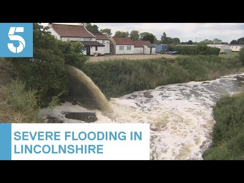 Floodwaters Keep Wainfleet Residents From Their Homes With Further Downpours Predicted | 5 News