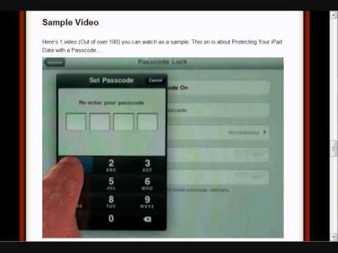 Ipad 2 instructions instructions on how to use my ipad 2 youtube.