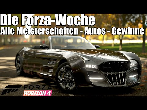 Forza Horizon 4 - Die Forza Woche - Alle Meisterschaften, Autos und Gewinne (S6H) thumbnail