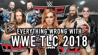 Episode #399: Everything Wrong With WWE TLC 2018