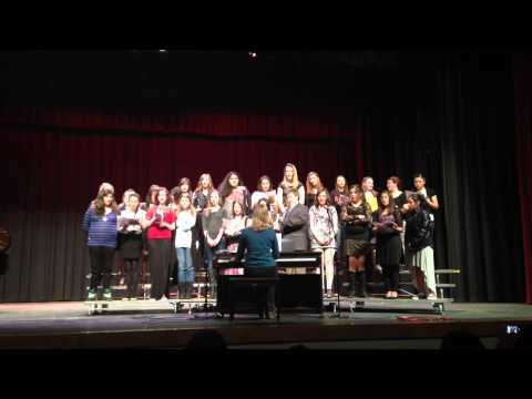 William Thomas Middle School Choir February 2014