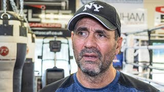 Tony Sims RELIEVED NIGEL BENN COMEBACK cancelled