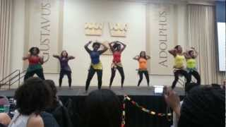 African Dance 2013 at Gustavus African Night