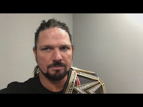 AJ Styles vows to get retribution at the Greatest Royal Rumble event: Exclusive, April 18, 2018
