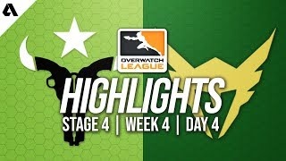 Houston Outlaws vs Los Angeles Valiant | Overwatch League Highlights OWL Stage 4 Week 4 Day 4