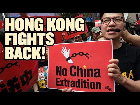 Massive Hong Kong Protest Over New Extradition Rules  China Uncensored