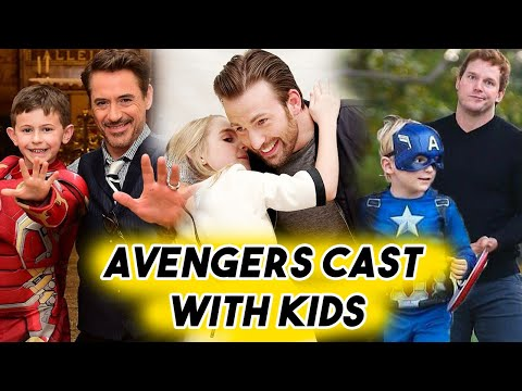 Avengers Cast Being THE CUTEST with Kids  Chris Evans Hemsworth Pratt RDJ Funny Moments