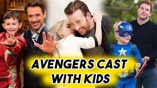 Avengers Cast Being THE CUTEST with Kids | Chris Evans Hemsworth Pratt RDJ Funny Moments thumbnail