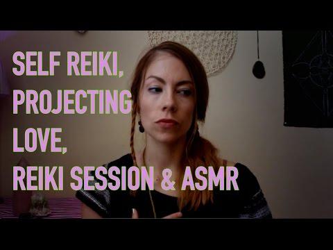 REIKI FOR SELF HEALING AND DIRECTING POSITIVE ENERGY, ASMR