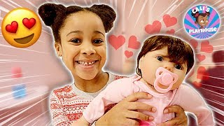Cali's New Baby Birthday Surprise | Cali's Playhouse