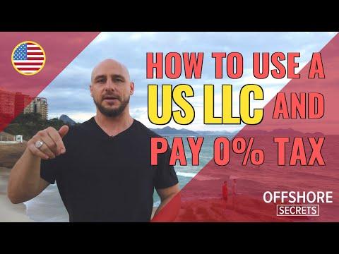 Achieve Total Tax-freedom Through A US LLC As A Non-Resident