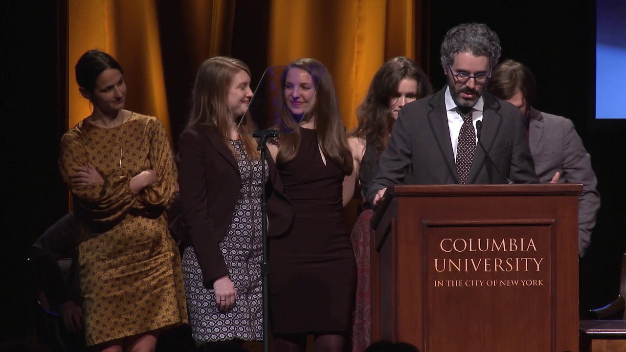 Michael Barbaro - 2018 duPont-Columbia Awards Acceptance Speech