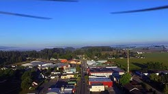 Early Morning Flight through Everson WA, 200ft, 3.5 miles, 35mph