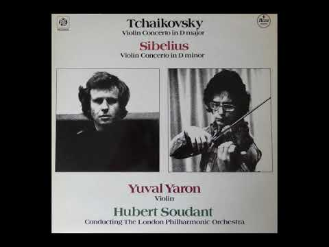 Tchaikovsky; Violin Concerto, Yuval Yaron, violin / Hubert Soudant / London Phil. Orch.  1978