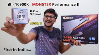 World's Fastest Gaming CPU... intel i9 - 10900K & Z490 Aorus Master 🔥🔥
