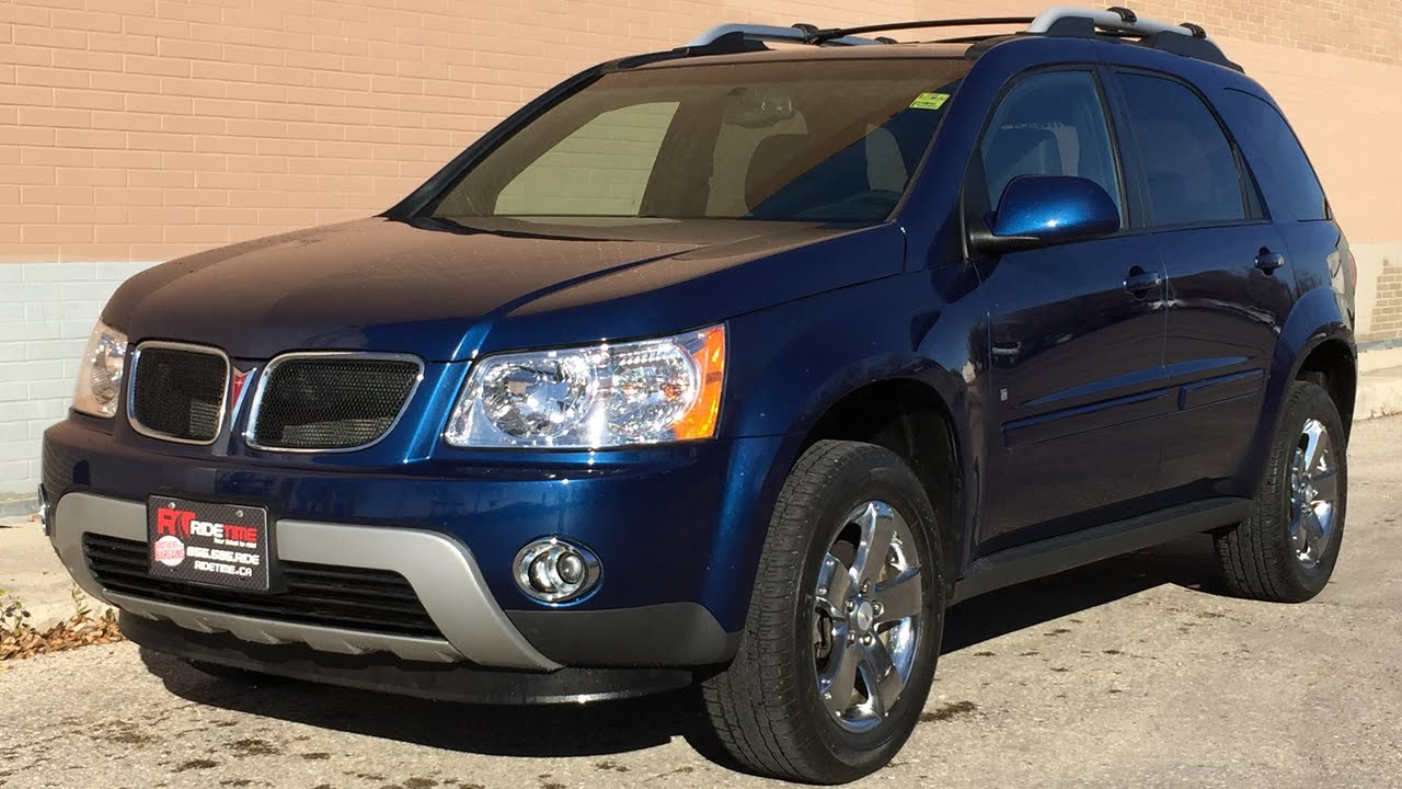 2009 Pontiac Torrent Awd Moonroof Chrome Wheels Heated