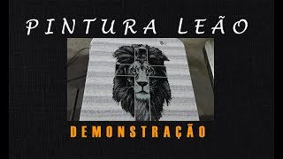 Pintura Leão (demonstração)