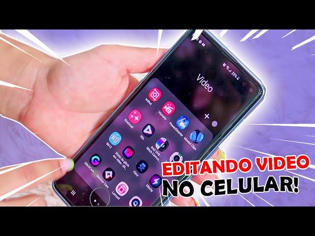 EDIÇÃO COMPLETA COM CELULAR!! | 3 APPS PARA EDITAR VIDEOS GRÁTIS