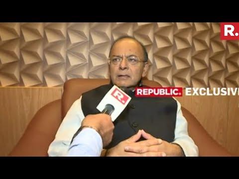 Arun Jaitley Speaks To Republic TV | Exclusive Interview