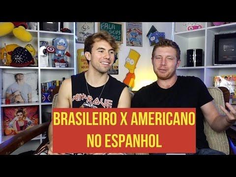AMERICANO X BRASILEIRO: Quem fala melhor espanhol? (Com Carlos Santana)