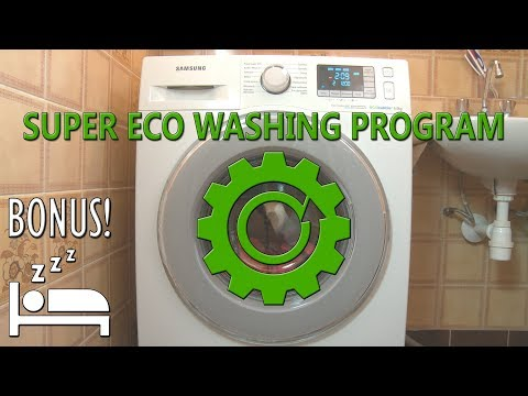 Super Eco Wash cycle washer samsung washing machine