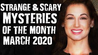 Gambar cover Scary Mysteries Of The Month March 2020