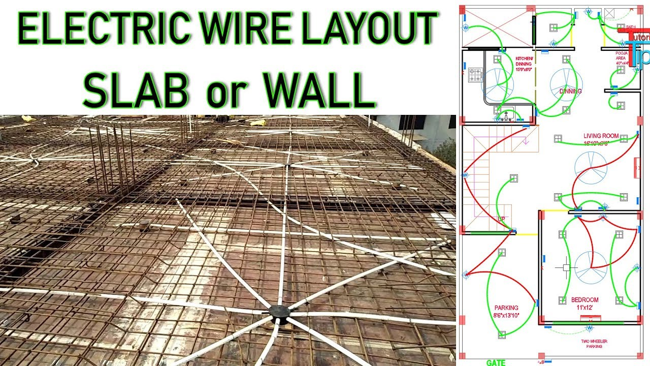 electrical house plan layout how to electrical wire layout for small house working drawing  electrical wire layout for small house