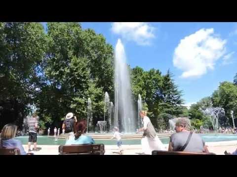 Margaret Island Music Fountain