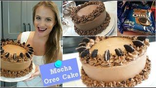 Easy Mocha Oreo Cake