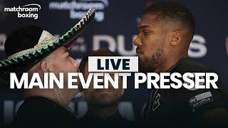 Andy Ruiz vs Anthony Joshua 2 final press conference