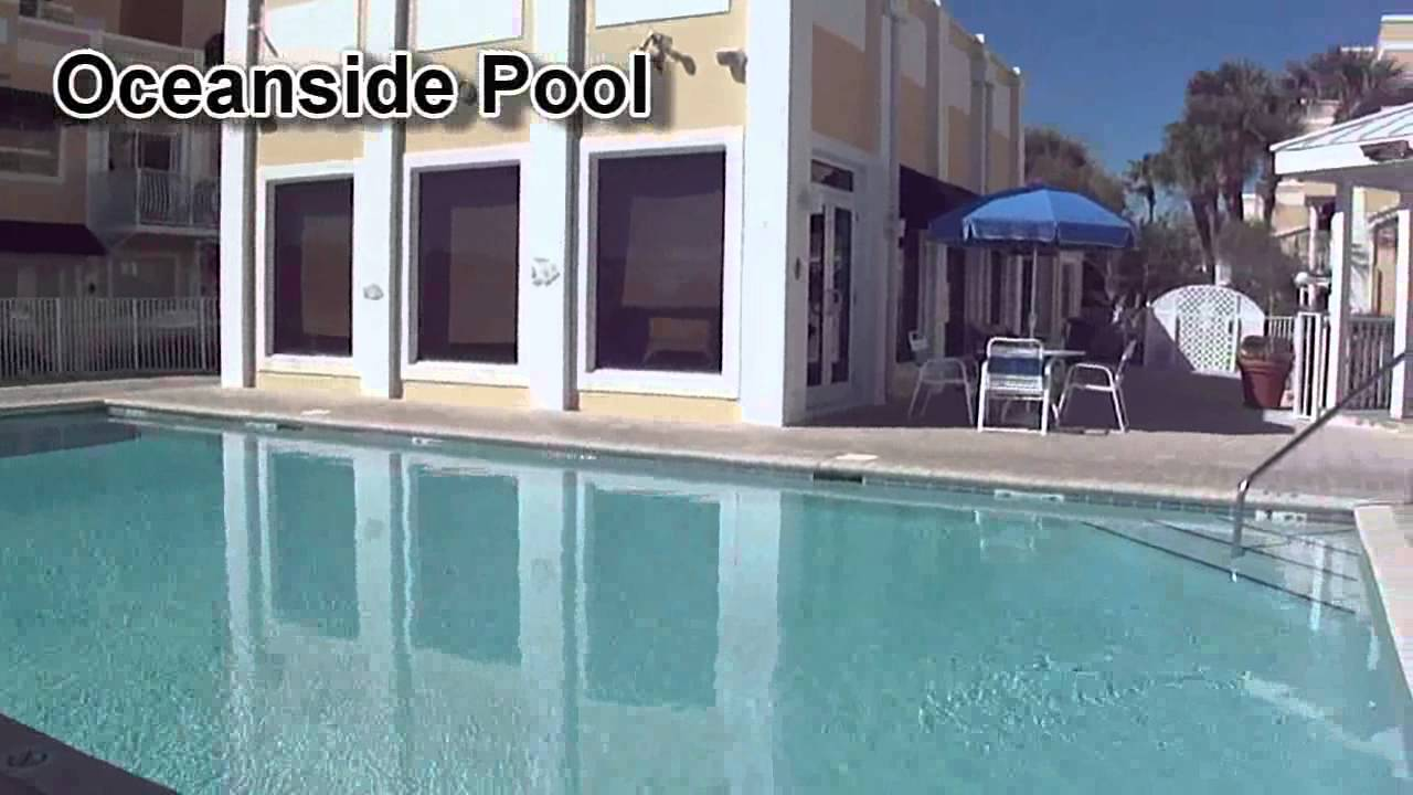 Royal Mansions Resort Hotel Patio Suite Full Kitchen Sleeps 6 Cocoa Beach Fl