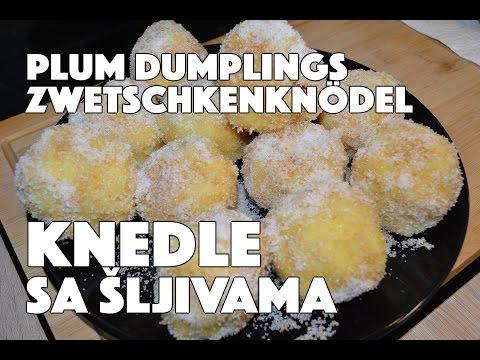 RECIPE: Plum dumplings / english on screen titles