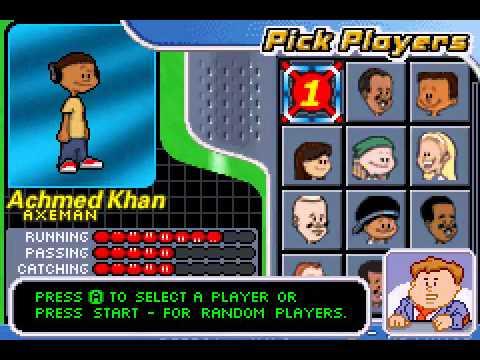 Game Boy Advance Backyard Football 2006 - Version Etats ...