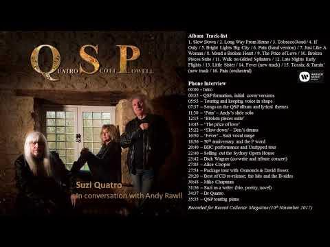 Quatro Scott Powell - Interview with Suzi Quatro