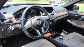 2013 Mercedes Benz E350 75K owner review HD