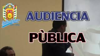 MD SIMÓN BOLÍVAR III AUDIENCIA PUBLICA RENDICIÓN DE CUENTAS DEL AÑO FISCAL 2013