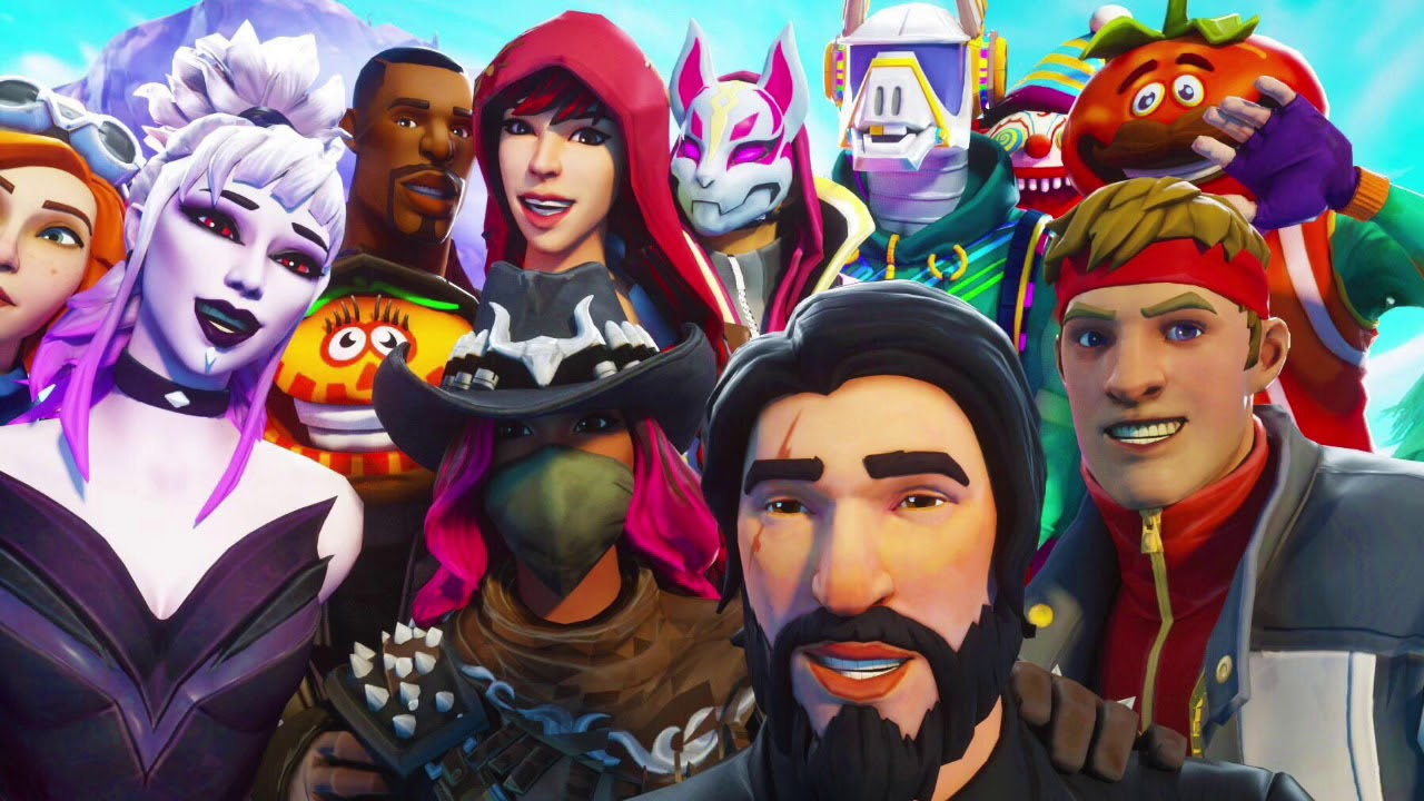 All New Skins Wallpapers Fortnite Battle Royale Default Skin Rock Skins And More Part 4 Youtube