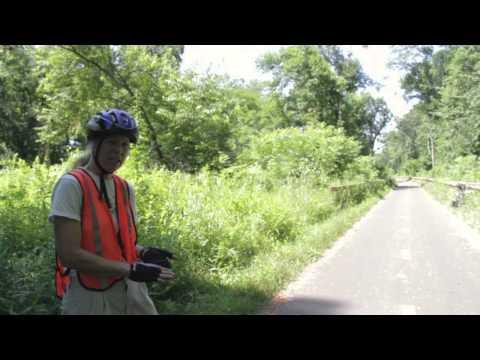Manhan Rail Trail, Bike Path Thru Easthampton & Northampton, MA (Extended Version)