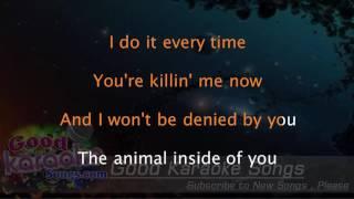 Animal - Kesha ( Karaoke Lyrics )