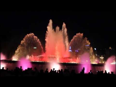 Montjuic Magic Fountain - Barcelona