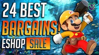 BARGAINS! 25 Switch eShop Game…