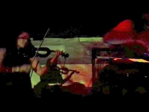 Jack Pharaoh and Tallulah Kidd violinist at Noise Revolt